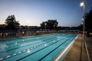 London fields lido awarded for A swimming pool is 50m long and 20m wide